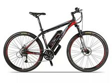 VSP 7.0 White & Red or Red & Black Electric Mountain Bike *New & Boxed*