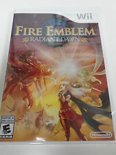 Wii Fire Emblem Radiant Dawn NEW FACTORY SEALED U Official North American Vers