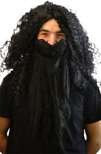 Fancy Dress/Panto/Stage/Wizard School/Potter HAGRID GIANT BLACK WIG ONLY