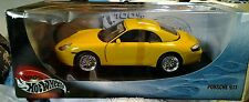 Mattel_Hot Wheels_Metal Collection_1:18 Scale_Yellow PORSCHE 911 new in box