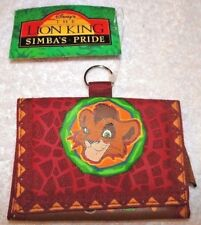 NEW WITH TAGS DISNEY LION KING SIMBAS PRIDE KOVU TRI FOLD RED WALLET