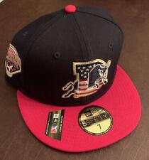 Durham Bulls New Era Stars Stripes July 4th 59FIFTY Fitted Hat NWT 7
