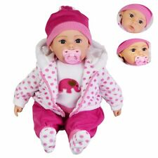 Lifelike Size Bodied Baby Girl Doll with Sound 20""""