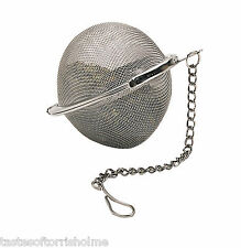 Reusable Kitchen Craft Stainless Steel Spice, Herb Loose Tea Infusing Ball