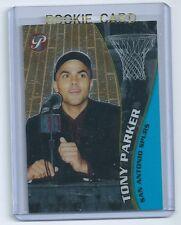 Tony Parker 2001-2002 01-02 Topps Pristine Rookie Card #108