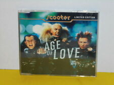 MAXI CD - SCOOTER - THE AGE OF LOVE - LIMITED EDITION