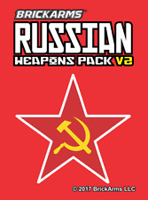 BrickArms Russian Weapons Pack V2 - Fits LEGO Minifigures