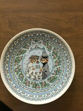 Enesco Lucy and Me 25th Wedding Anniversary Plate Great Condition