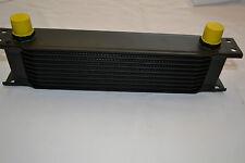 UNIVERSAL BLACK ALUMINIUM 9 ROW ENGINE GEARBOX TRANSMISSION OIL COOLER