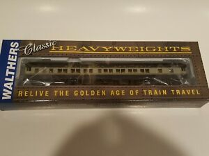 Walthers Classic Heavyweights 932-10060 HO B&O Pullman 8-1-2 (Plan #3979A) NEW
