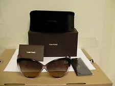 Authentic tom ford Sunglasses Madison tf 253 50Z 63/10 cat eye new