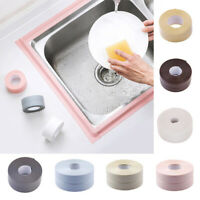 1pc 3.2mx2.2cm Kitchen Sink Mildew-proof Tape Butyl Rubber Strips Sealing Tools