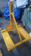New listing Lift O Matic Forklift Barrel Lift 850 Pound Capacity Surplus to our needs.