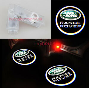For Land Rover Logo 2x LED Laser Projector Door Welcome Ghost Courtesy Lights