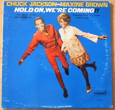 Scarce Original Chuck Jackson - Maxine Brown Hold On, We're Coming!!  - NM Vinyl