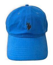 US Polo ASSN Pony American USA Flag Buckle Baseball Hat Ball Golf Cap Ballcap