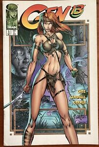 GEN13 #5 Campbell Cover ( Image Comics USA 1995 ) TBE