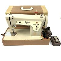 Singer Model 237 Sewing Machine and Case - Being sold for parts or repair
