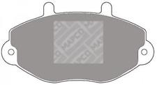 Bremsbelagsatz, Scheibenbremse für Bremsanlage Vorderachse MAPCO 6381