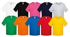 100% Baumwolle Jungen-T-Shirts,-Polos & -Hemden mit Rundhals ohne Muster