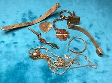 Lot of Mixed Gold Fill Scrap Jewelry