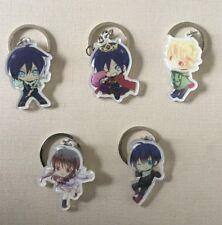 Anime Noragami Aragoto Yato Yukine Acrylic Pendant Keychain Keyring 5pcs/set