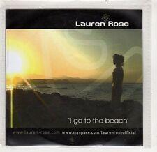 (GV85) Lauren Rose, I Go To The Beach - 2007 DJ CD
