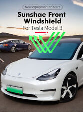 For Tesla Model 3 Car Sun Shades Windshield Anti UV Sunshade Visor Front Cover
