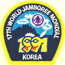 M9106 17th WORLD SCOUT JAMBOREE 1991 REPRODUCTION PATCH