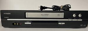 Hitachi VTFX665A 4 Head VCR HiFi stereo Excellent!