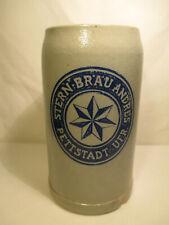 Alter Brauerei Bierkrug Stern Bräu Andres Pettstadt Unterfranken