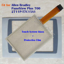 for Allen Bradley PanelView Plus 700 2711P-T7C15A1 Touch Screen Panel + Film New