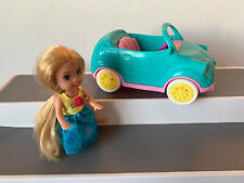 BARBIE CHELSEA TOY CAR HAS TOW HOOK FOR CAMPER VAN SMALL DOLL NOT CHELSEA
