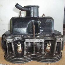 Testata motore Fiat 500 r 126/600 c.c abarth  completo di coperchio punterie