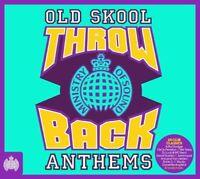 Various Artists - Throwback Old Skool Anthems (CD) (2015)