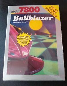 Ballblazer Atari 7800 Video Game Cartridge NOS Sealed Red End Label