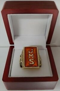 Chicago Bears - 1933 Championship Ring WITH Wooden Box