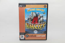 Sim City 4 Deluxe Edition (PC Game)PLUS RUSH HOUR SimCity Free Same Day Shipping