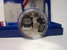 90% Silver Dollar Proof ** 1986 U.S. U.S. Liberty Coin** COA & Box
