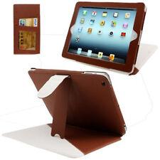 Tasche 2-Colour für Apple iPad 3 / iPad 4 in braun weiß mit Aufstellfunktion