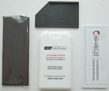 NEW Zagg Invisible Shield Screen Protector Installation Spray Squeegee Cloth Kit