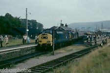 British Rail 37176/37177 Welsh Warrior Railtour 1979 Rail Photo F