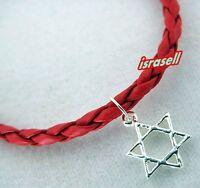RED KABBALAH BRACELET WITH JEWISH STAR OF DAVID
