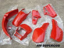 NOS HONDA MTX125 MTX125R MTX125RII MTX200 MTX 125 200 RED Cover Set