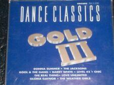 DANCE CLASSICS GOLD III (2 CD - 1992) Arcade  Blue Discs Repress Edition