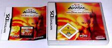 Spiel: AVATAR PFAD DES FEUERS für Nintendo DS + Lite + Dsi + XL + 3DS 2DS