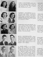 1947 Swissvale PA High School Yearbook~Photos~Blue Devils & Pirates Dick Groat