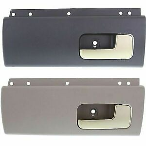 Interior Door Handle For 2003-2011 Lincoln Town Car Set of 2 Rear Plastic
