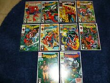 Spider-Man # 1-10 Nm- Avg . Issue 3 Is Vf+ .Todd Mcfarlane