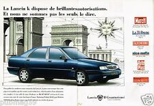 Publicité advertising 1996 (2 pages) Lancia K II Granturismo